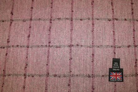 Country Tweed  Windowpane Check Fabric AZ34